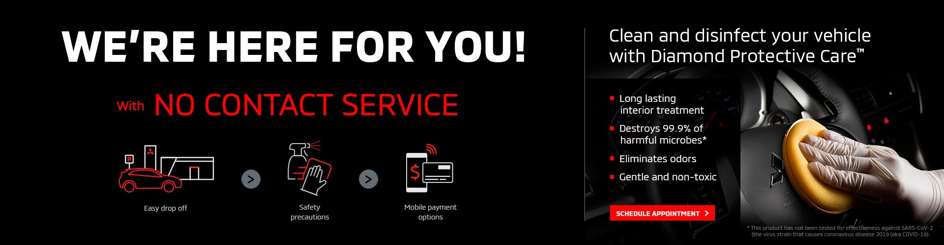 We are here for you! No contact service available.